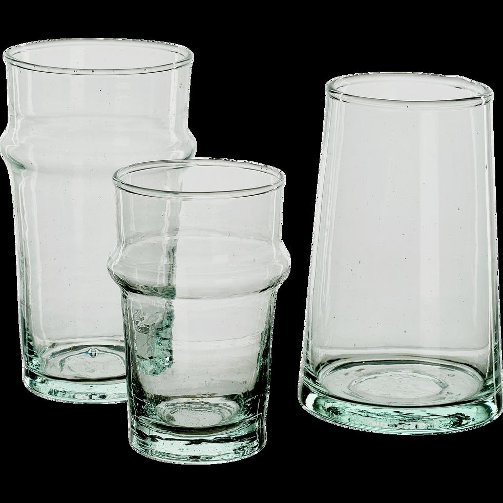 Verre transparent en verre recyclé 35cl-BELDI