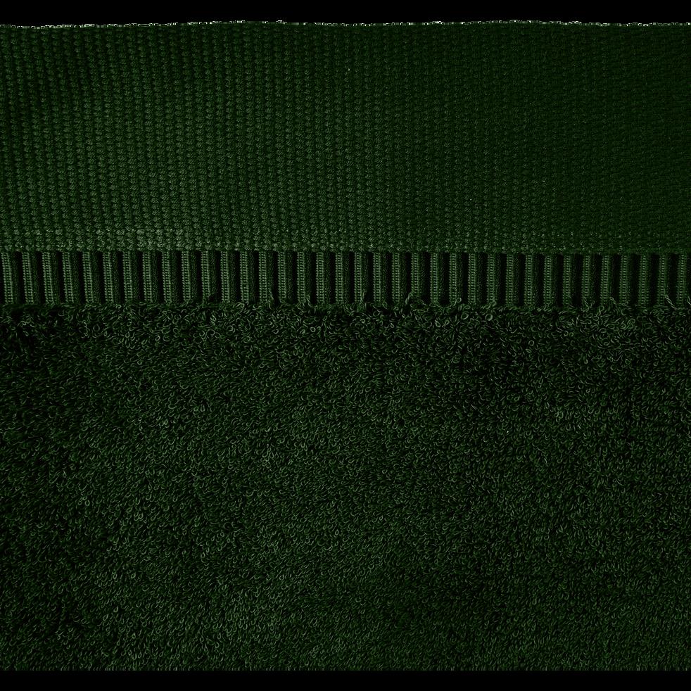 Drap de bain 100x150cm vert cèdre-ARROS