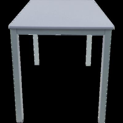 Table de repas carrée blanche - 4 places-REJANE