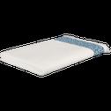drap de bain 100x150 cm blanc capelan-ZELLIA