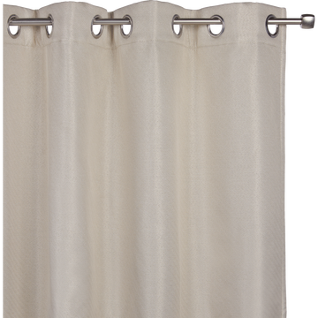 Rideau thermique beige roucas 135x300cm-PINEDE