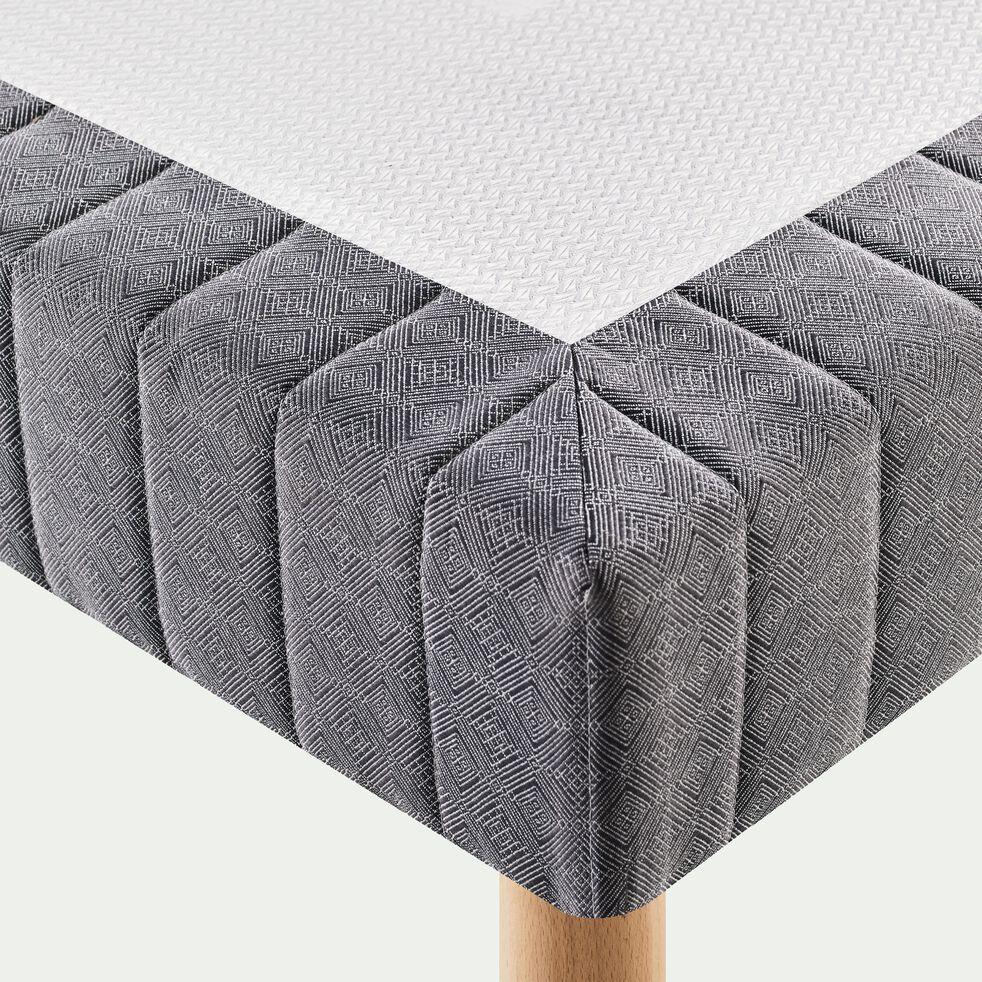 Sommier tapissier pro 2x80X200cm-BASTIDE MED