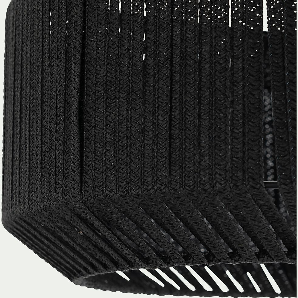 Suspension en métal 46cm - noir-CAMPA