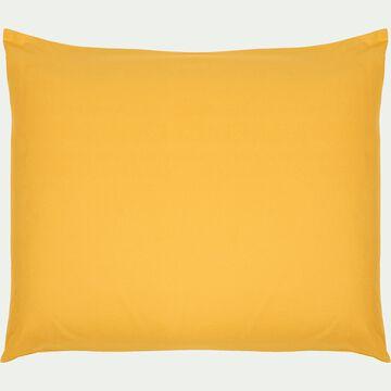 Taie d'oreiller bébé en coton 35x45cm - jaune-Calanques