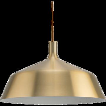 Suspension en aluminium doré D45cm-BOWI