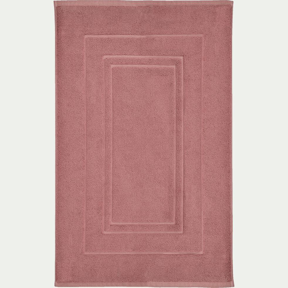 Tapis de bain en coton - brun rhassoul 50x80cm-AZUR