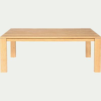 Table de salle à manger en chêne massif (L180cm) - 8 places-EMOTION