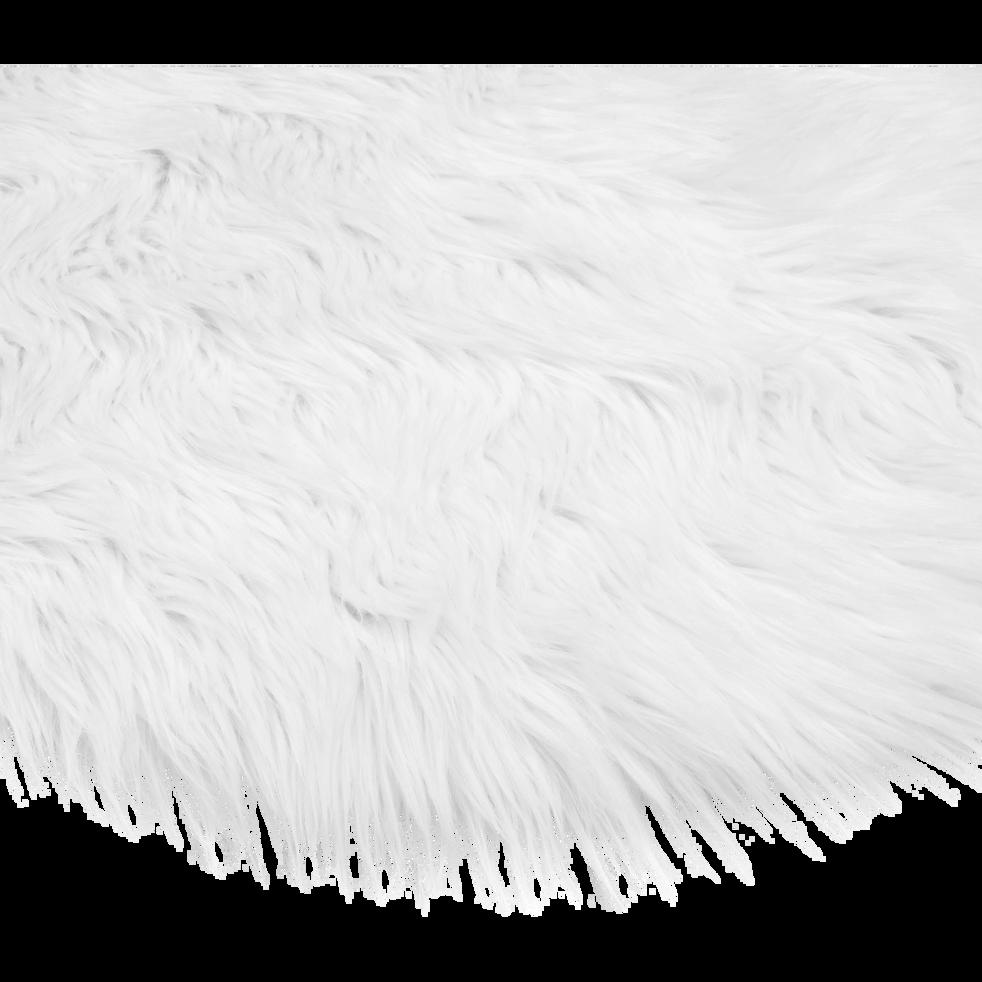 tapis rond blanc imitation fourrure d70cm bundchen 70 cm tapis ronds alinea. Black Bedroom Furniture Sets. Home Design Ideas