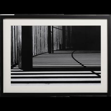 Image encadrée noir et blanc 50x70cm-OMBRE