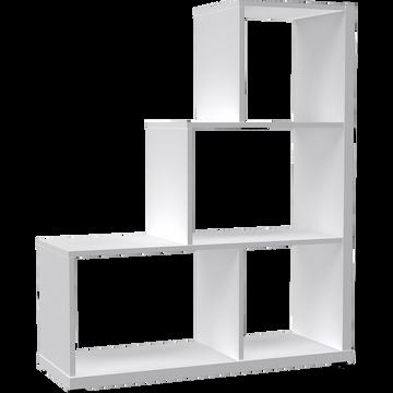 Étagère escalier blanche L94cm-BRIK
