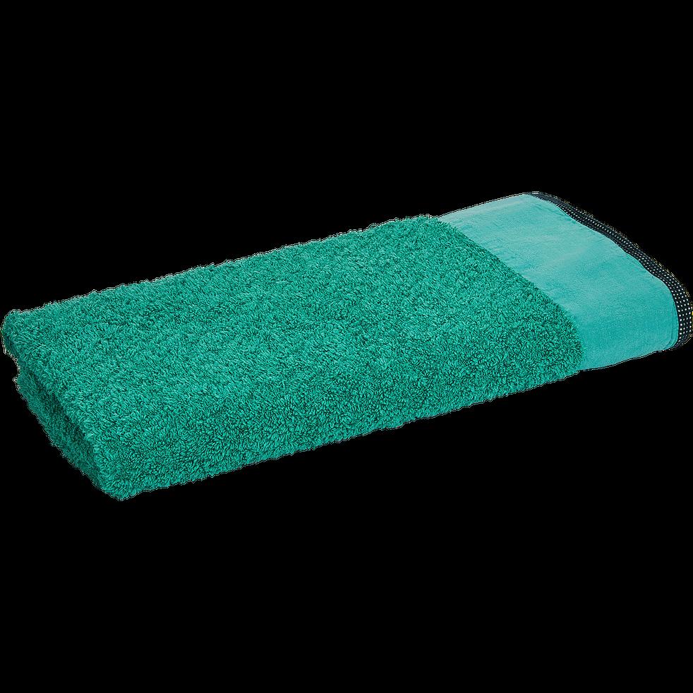 Drap de douche 70X140cm vert menthe-ADONI