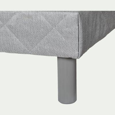 Pieds de sommier gris restanque H20cm (jeu de 4)-CYLINDRE