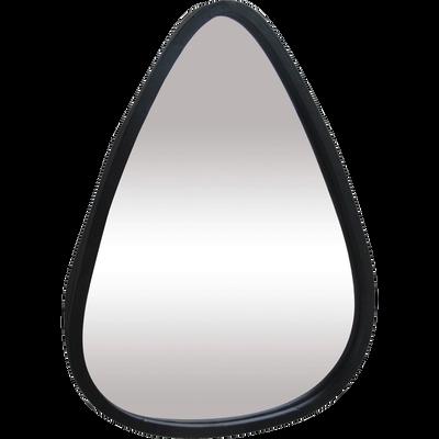 Miroir en métal forme triangulaire 31x24cm-YALA