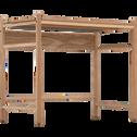 Bureau enfant bois et feutrine-THEOULE