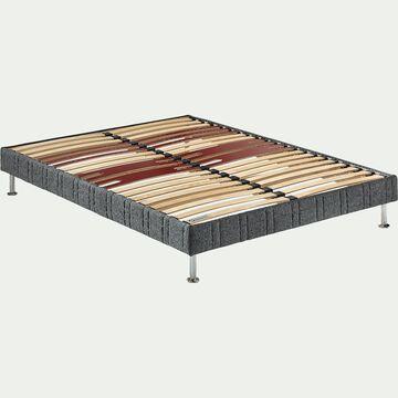 Sommier tapissier Bultex 14 cm - 2x80x200 cm-INTEREST