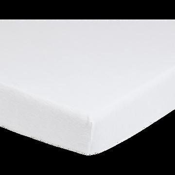 Protège-matelas en coton 140x200 cm bonnet 25cm-Breath