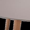Table de jardin taupe (6 à 8 places)-MONTREUX