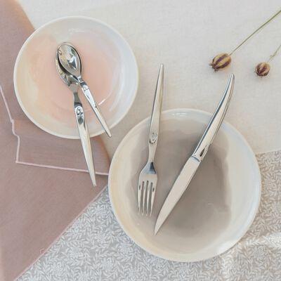 Gamme de vaisselle en faïence gris restanque-SANARY