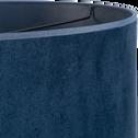 Suspension non électrifiée en velours bleu D40cm-VELOURS