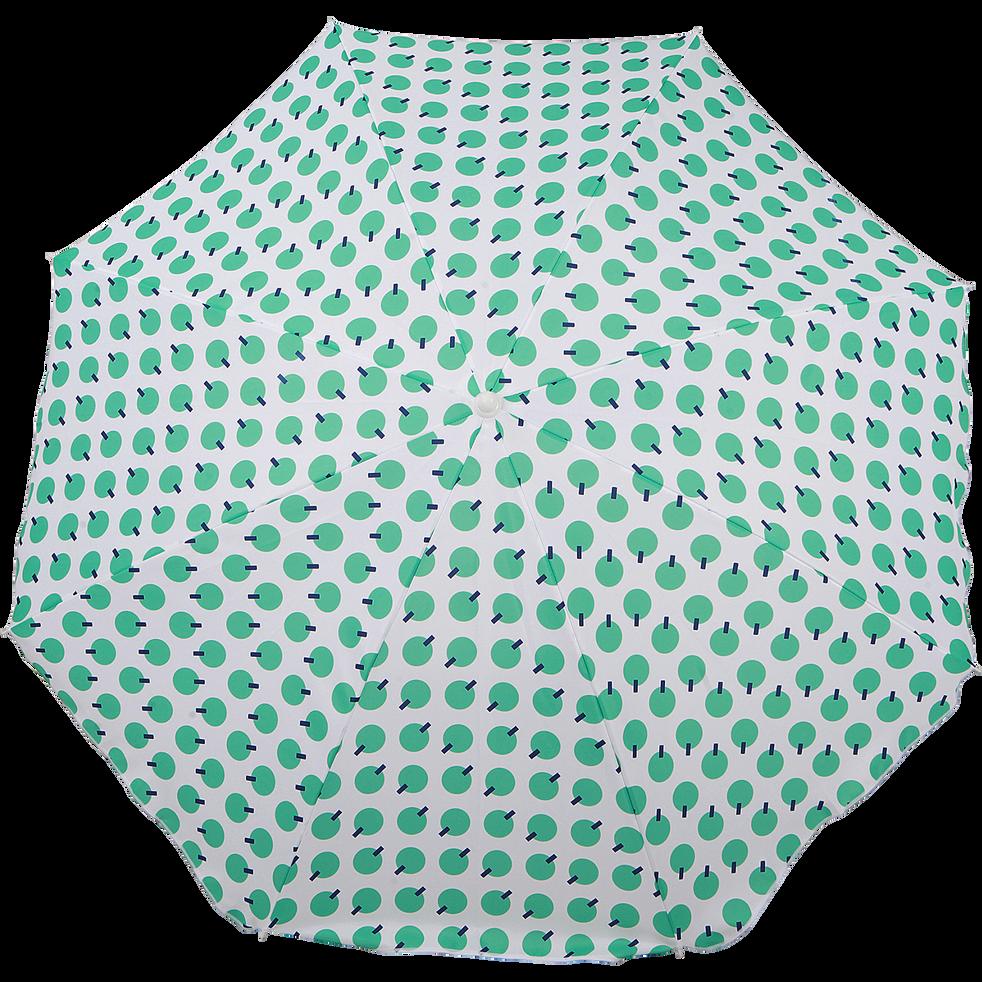 Parasol de plage à motif vert D180cm-GASSIN