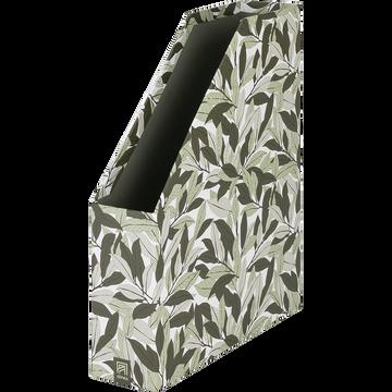 Range-revu en carton motifs laurier-LAURIER
