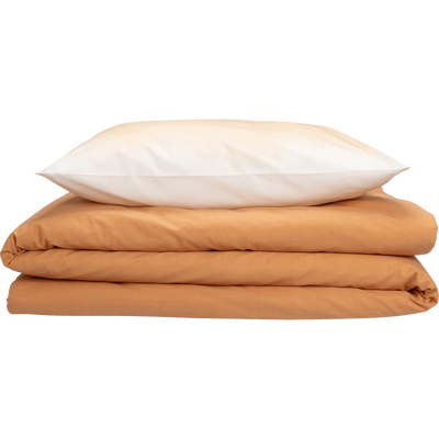 Parure de lit en coton supérieur imprimé dégradé - Plusieurs tailles-OCRE