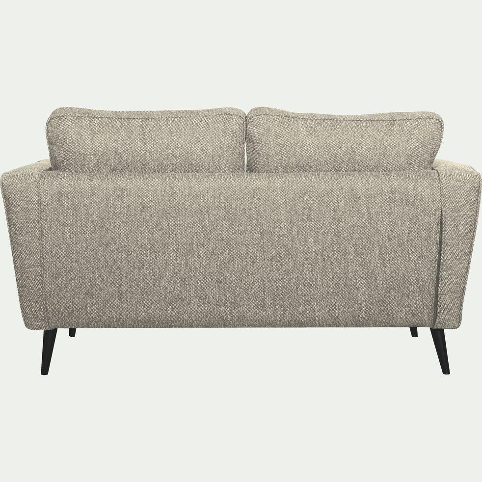 Canapé fixe 2 places en tissu - gris borie-BARTHOLE