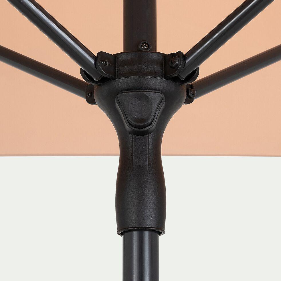 Parasol de balcon en aluminium - rose salina (200x300cm)-Draio