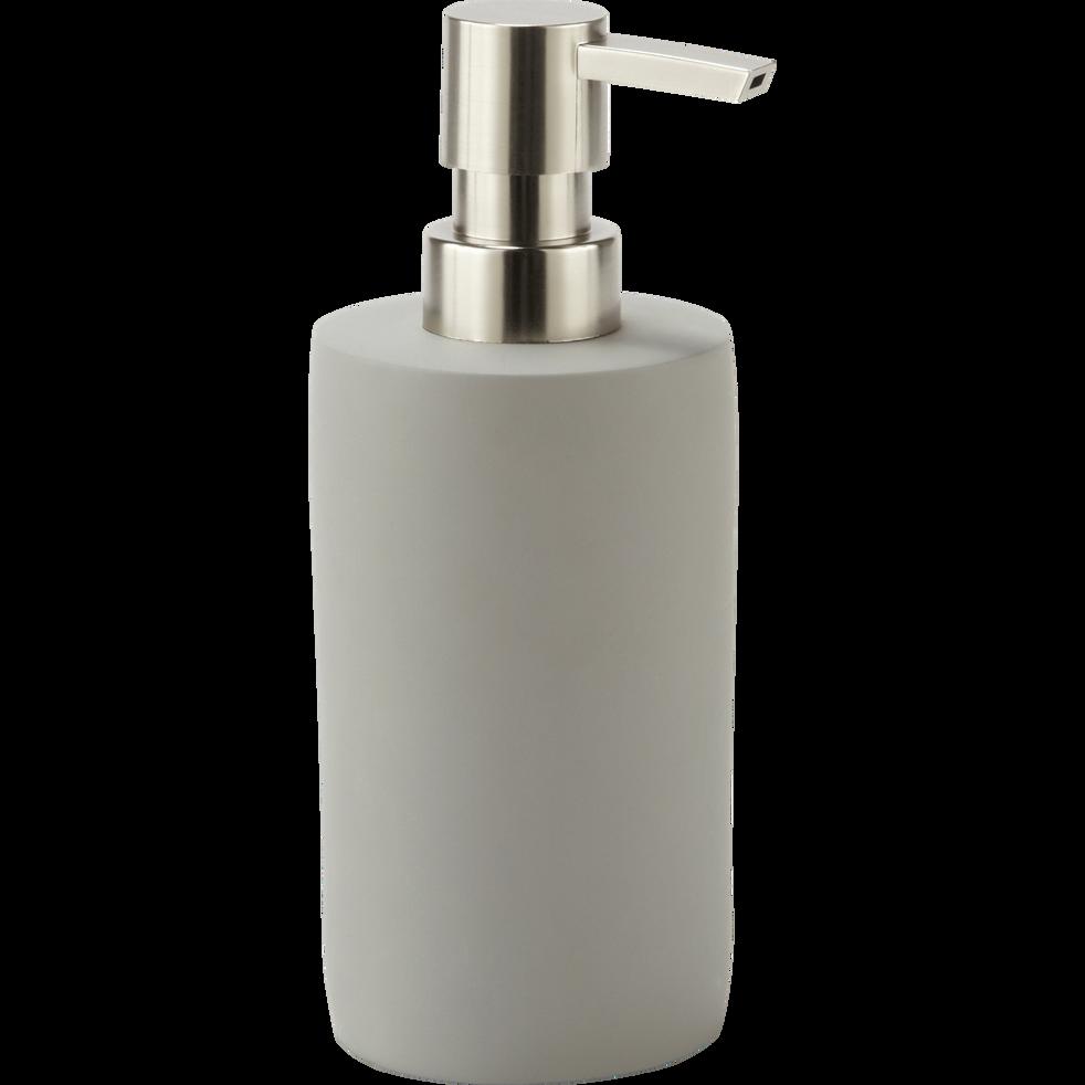 Distributeur de savon en ciment gris restanque-BORY