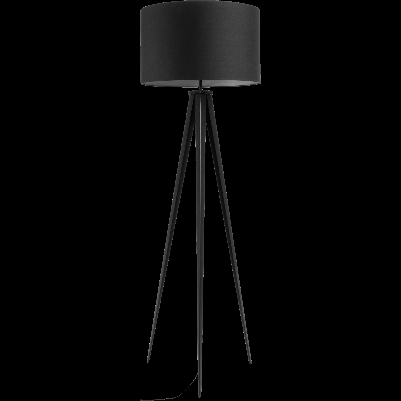 Lampadaire En Métal Noir H156cm TRIX