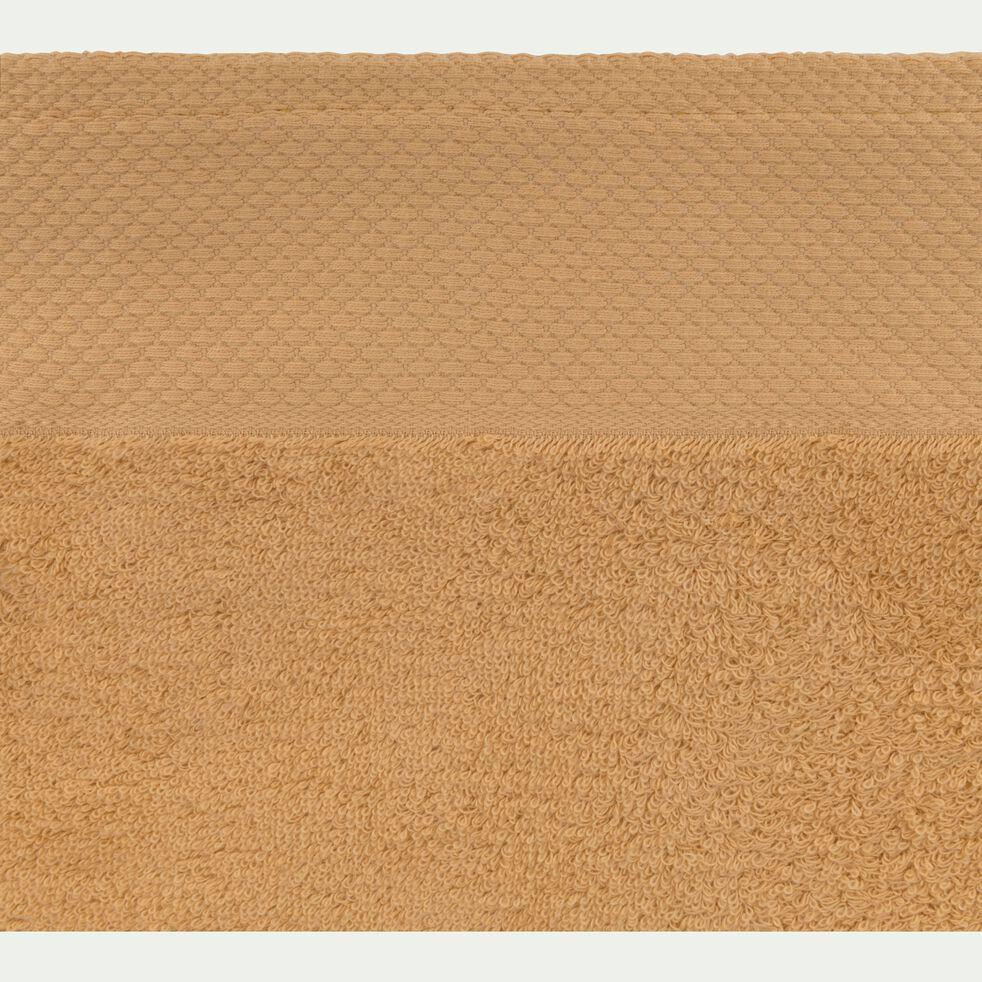 Drap de bain en coton 100x150cm beige nèfle-AZUR