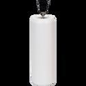 Pied de lampe en céramique blanc H46cm-STRI