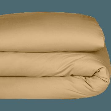 Housse de couette enfant en coton lavé beige nèfle 140x200cm-CALANQUES