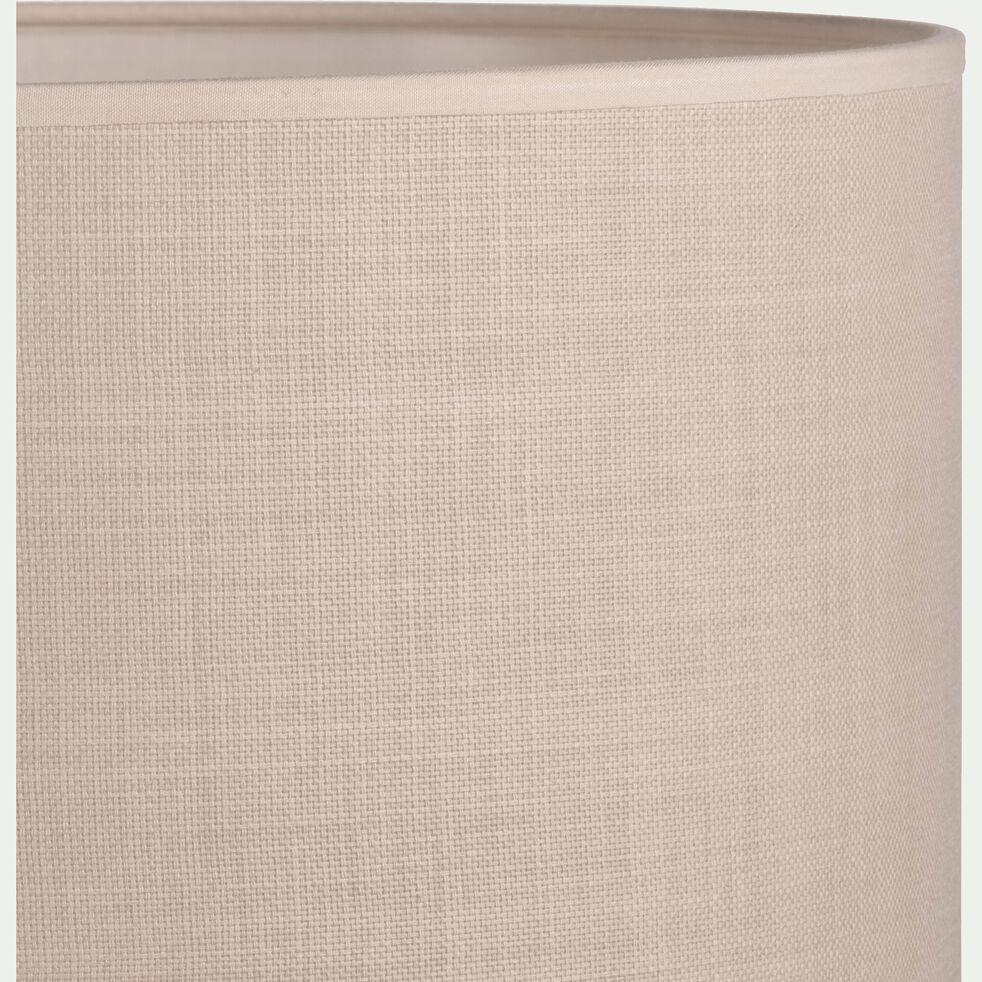 Abat-jour en tissu - D30cm beige roucas-MISTRAL