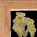 Plante encadrée gypsophile 14x19cm-NATURE