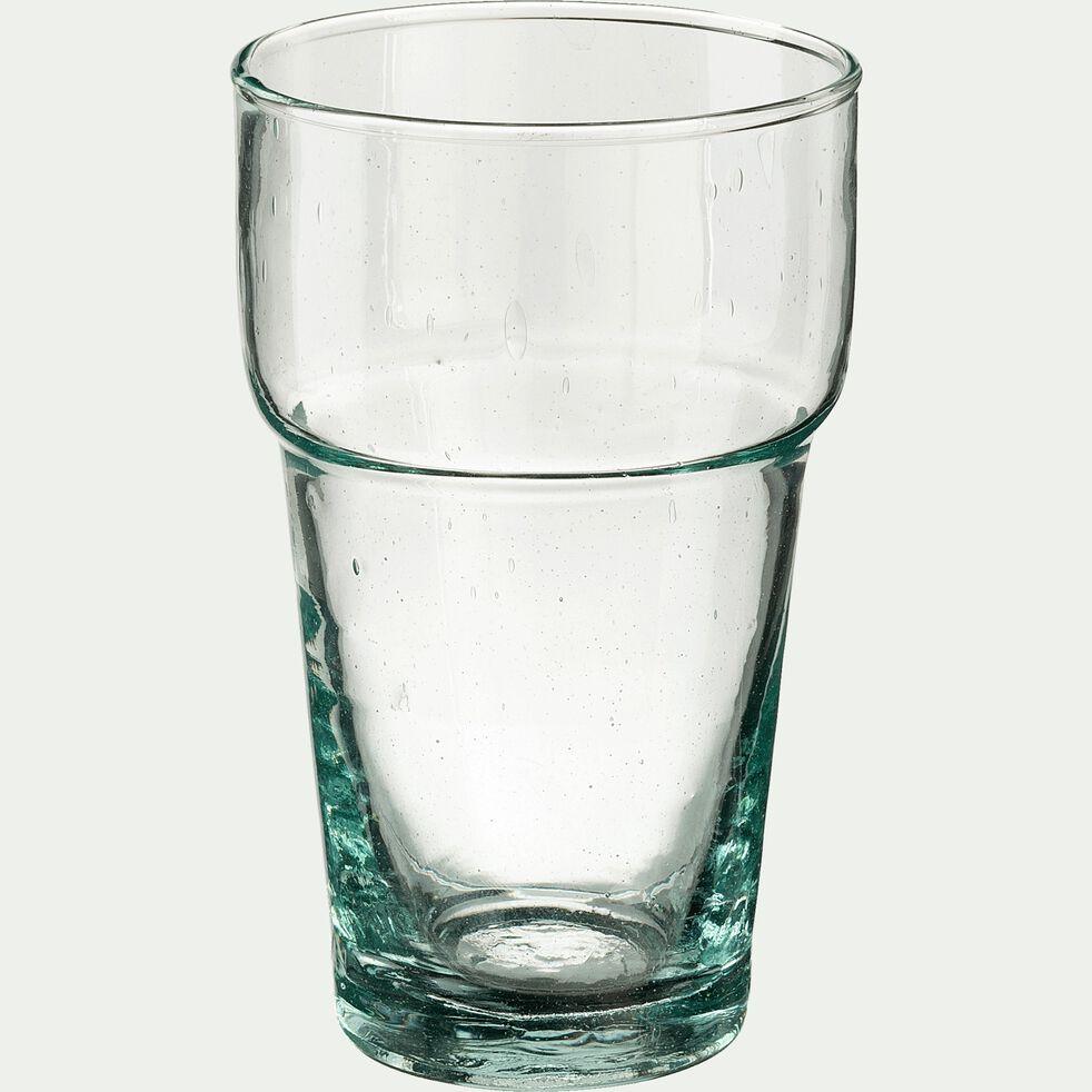 Verre transparent en verre recyclé 35cl-BERKANE