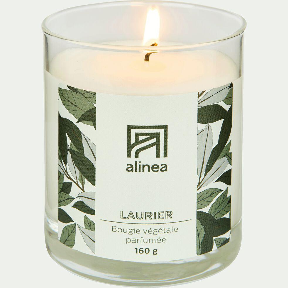 Bougie parfumée senteur Laurier 160g-LAURIER