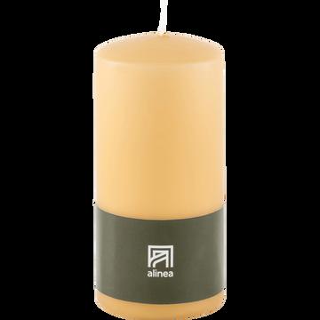 Bougie cylindrique beige estérel-HALBA