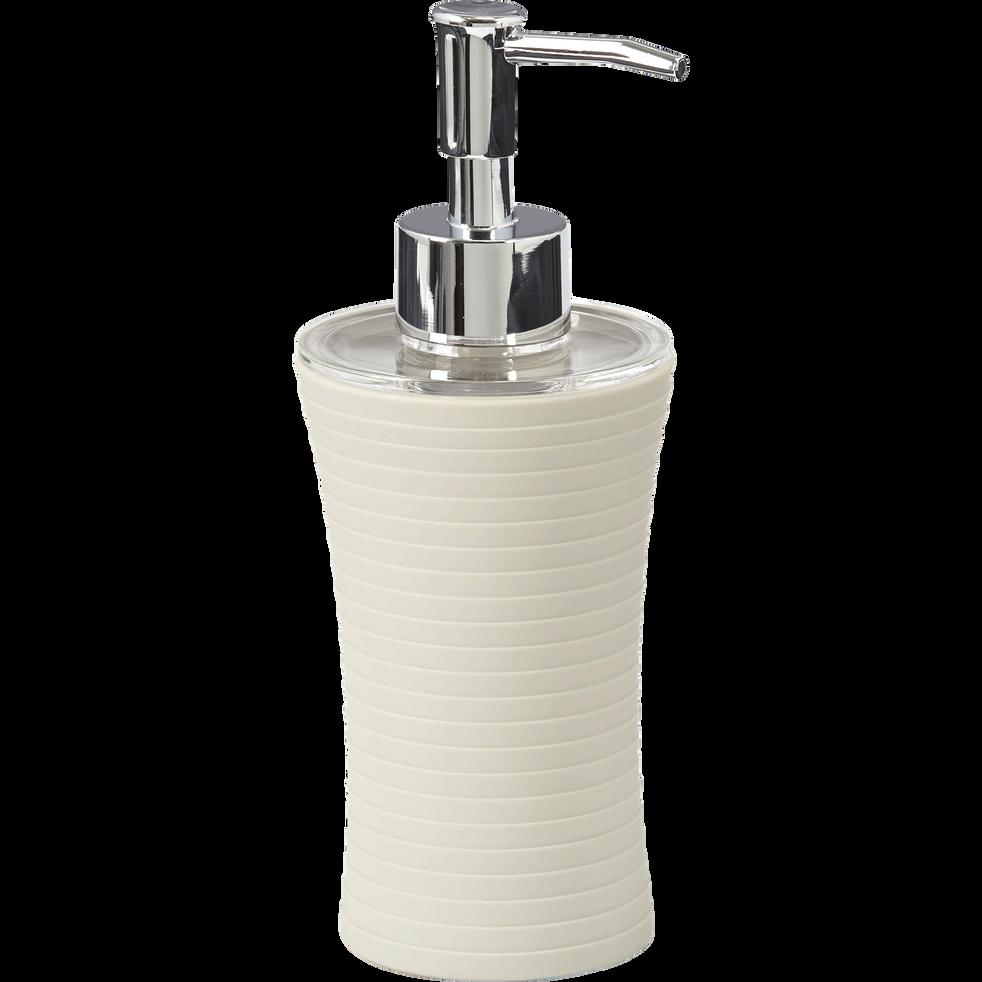 Distributeur de savon beige-SLUP