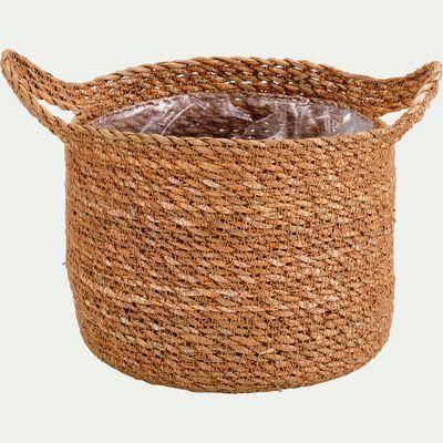 Cache-pot - naturel H20xD23 cm-NELIS