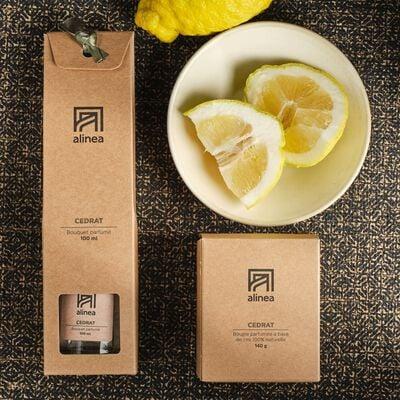 Diffuseur de parfum senteur Cedrat 100ml-CEDRAT