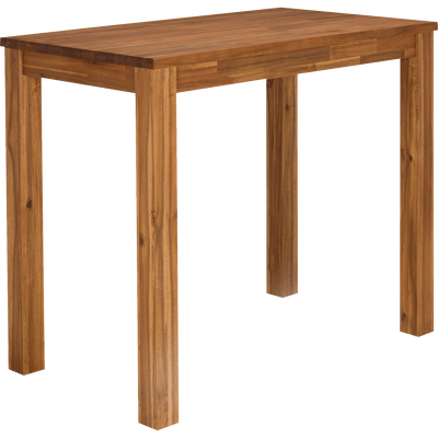 Table haute de bar rectangulaire en acacia - L120cm-AMBER