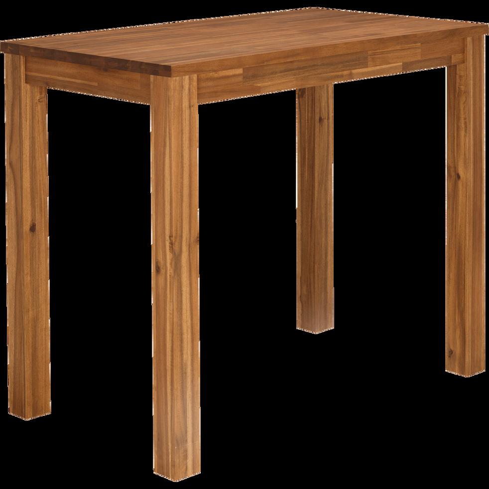 Table haute de bar rectangulaire en acacia - L120cm-AMBER