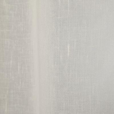 Voilage à oeillets beige roucas 135x250cm-DUNE