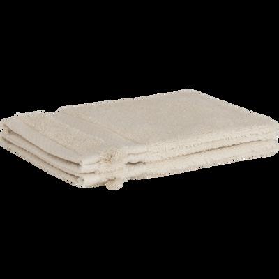 Lot de 2 gants en coton beige roucas-AZUR
