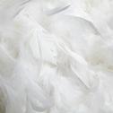 Suspension en plume blanche D50cm-PLUME