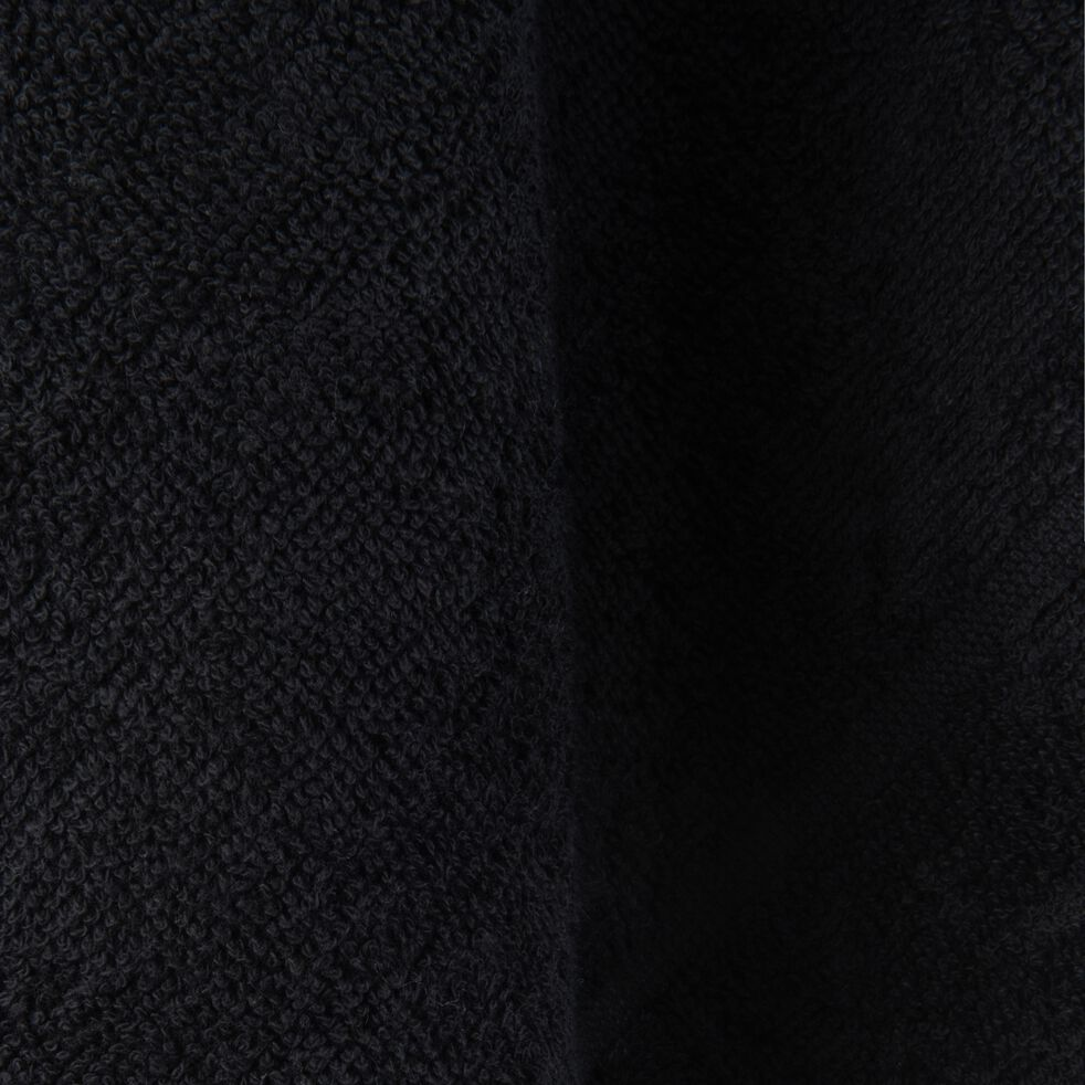 Carré éponge 50x50cm en coton noir-PANISSE