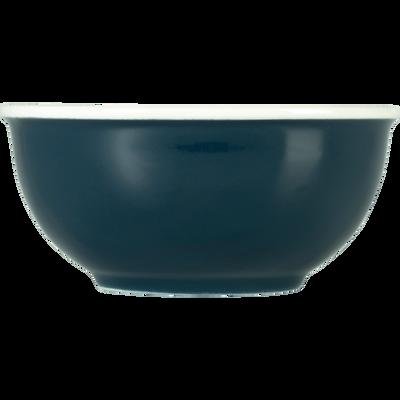 Bol en porcelaine bleu figuerolles D14,4cm-CAFI