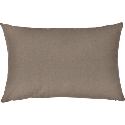 Coussin en coton brun châtaignier 40x60cm-CALANQUES