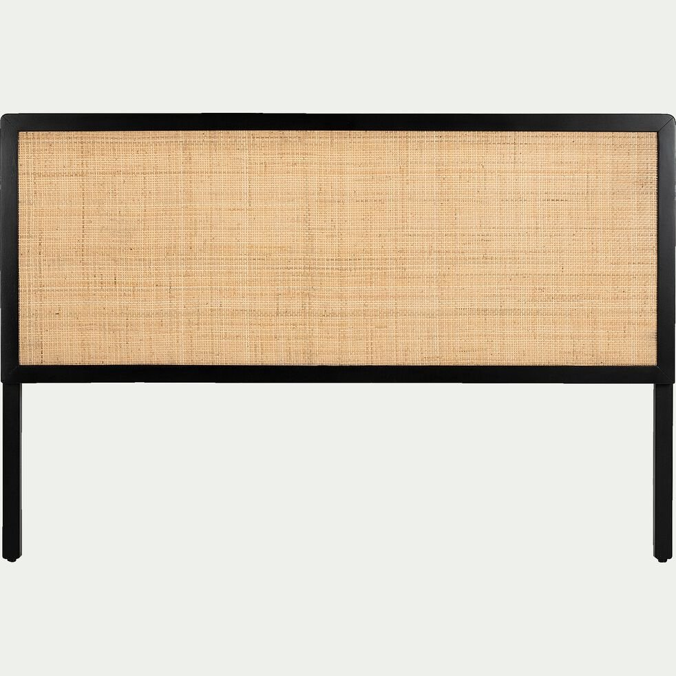 Tête de lit en bois et rotin L150cm-GALANT